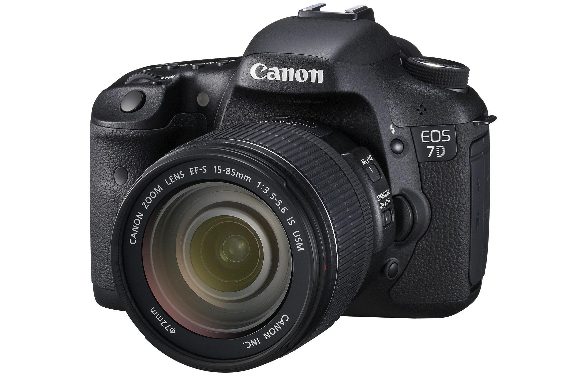 Øverst på lista troner Canon EOS 7D