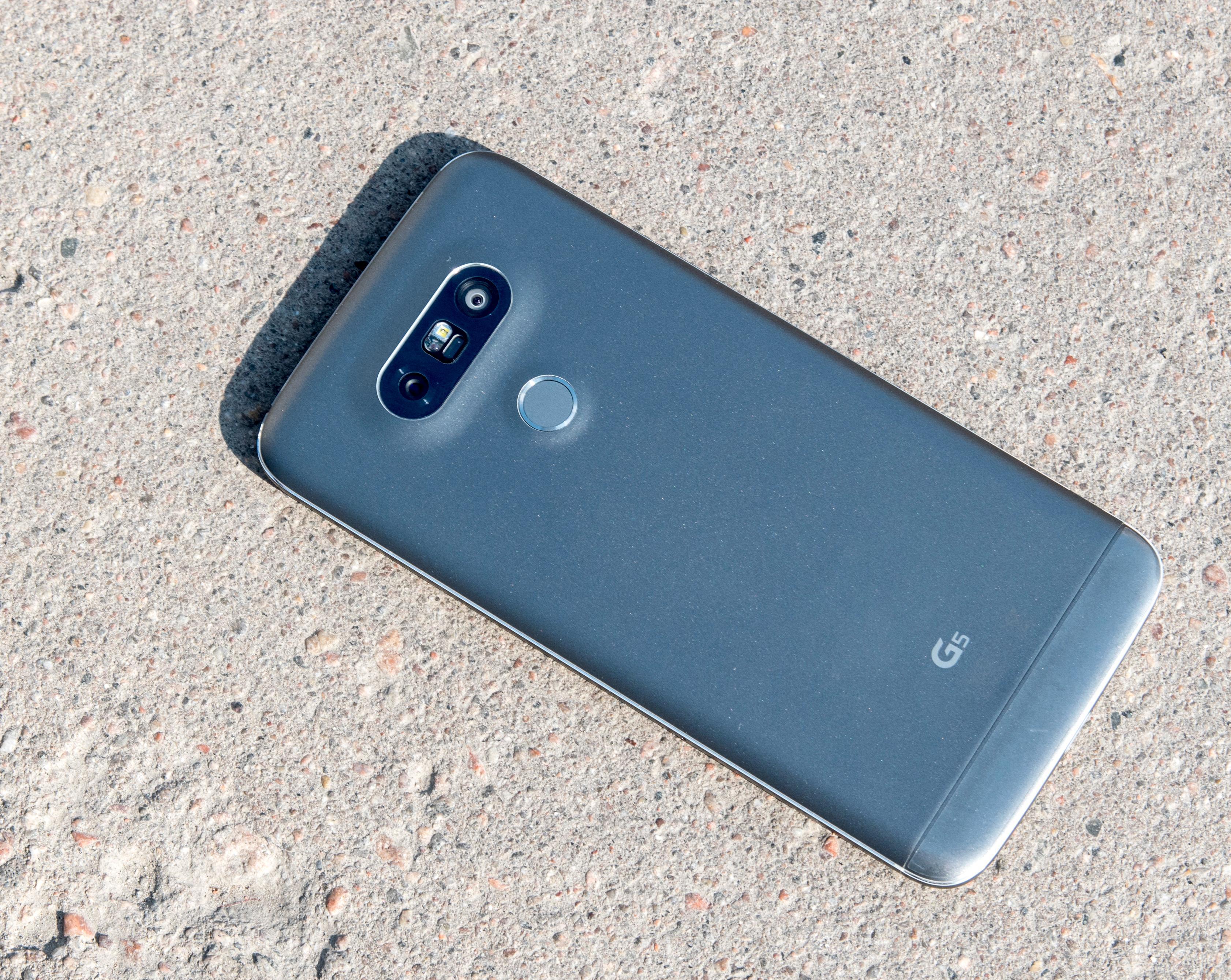 G Flex 3 får tilsynelatende mange likhetstrekk med G5, her avbildet, blant annet modulært design og dobbeltkamera.