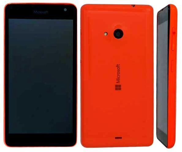 Microsoft RM-1090 i rød utførelse.Foto: TENAA
