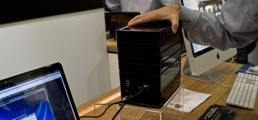 HP lager  hjemmeserver for Mac