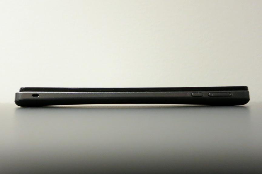 Xperia V er svairygget, slik også Xperia Arc var.Foto: Espen Irwing Swang, Amobil.no