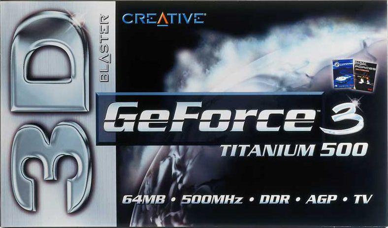 GeForce 3 Ti500 leverte den beste ytelsen man kunne få – hvis man hadde råd til det.