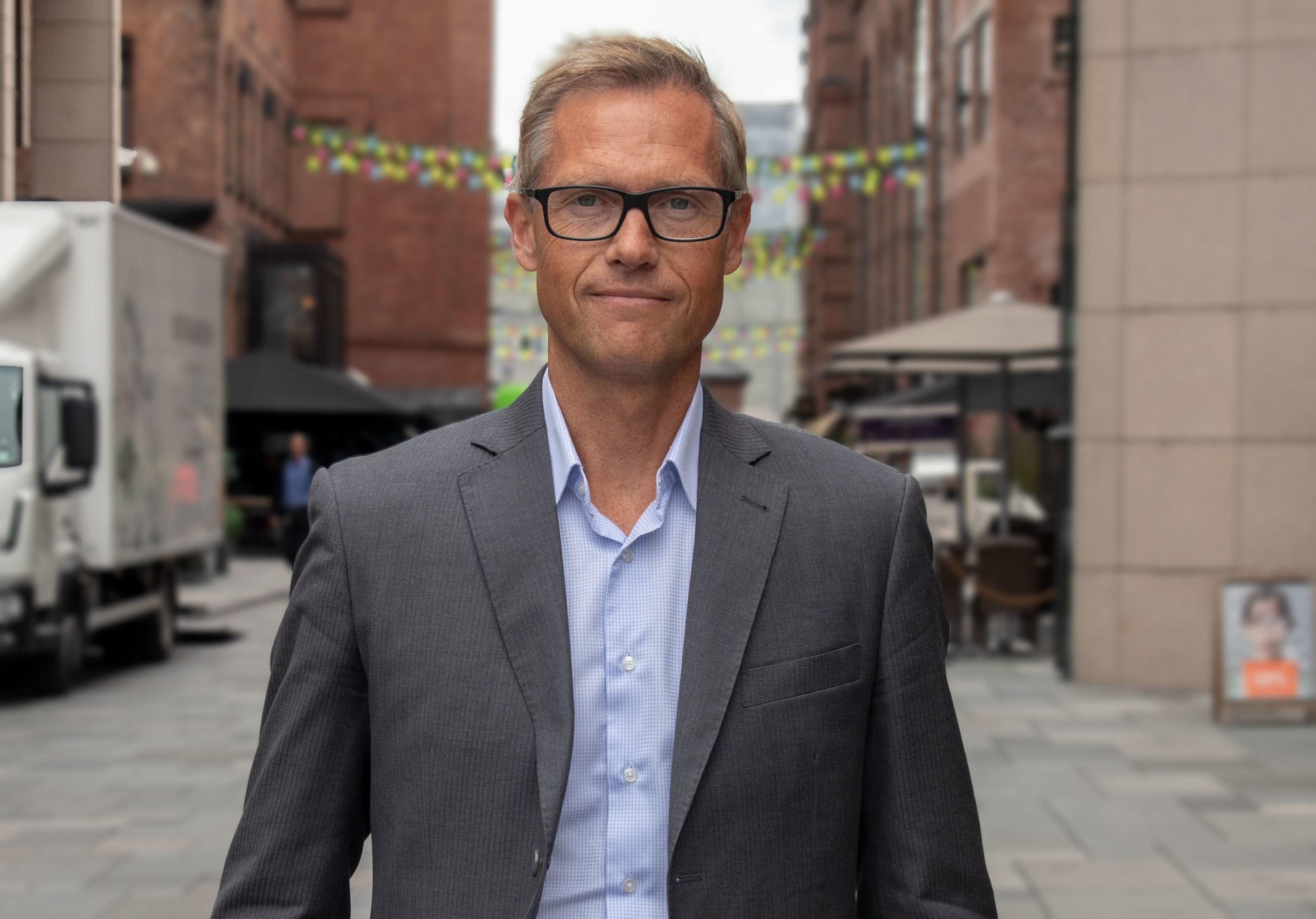 Inge M Kjønnøy, administrerende direktør i Mastercard Norge