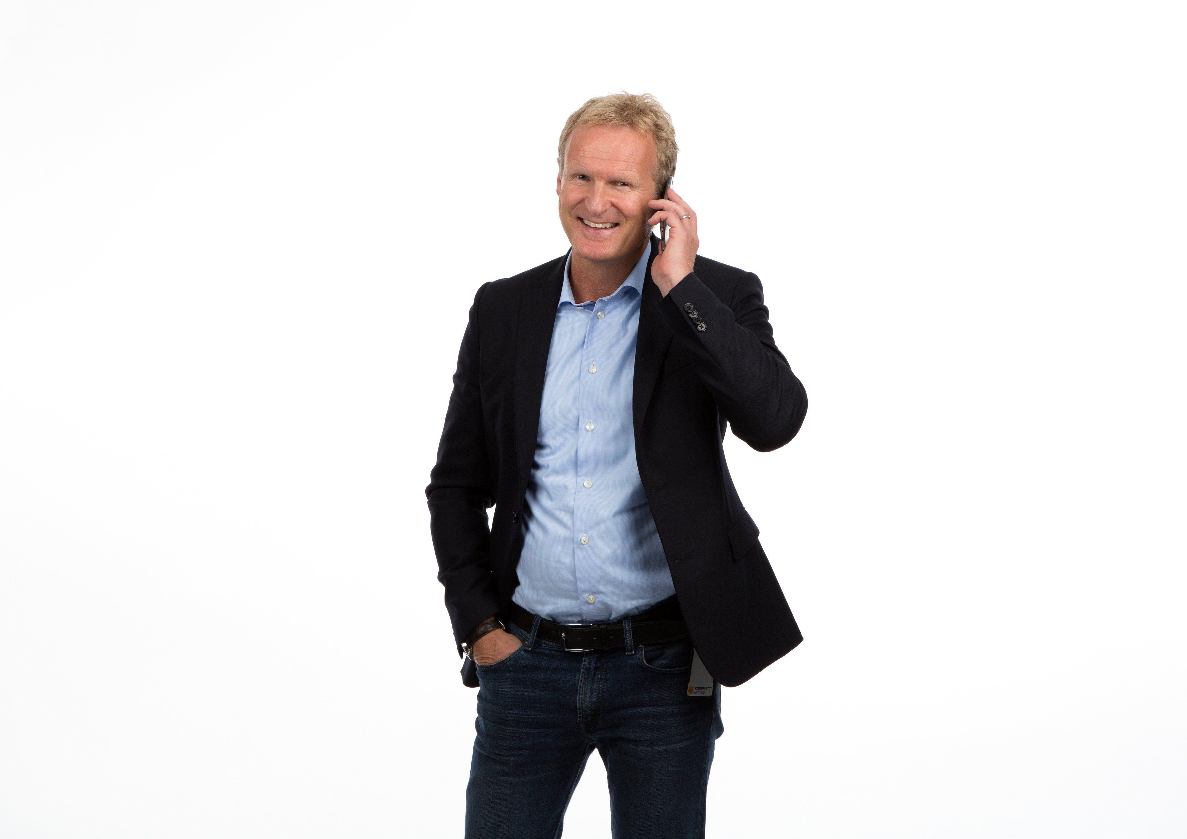 Haakon Dyrnes har vært sjef i Komplett Mobil siden oppstarten. Nå er det over.