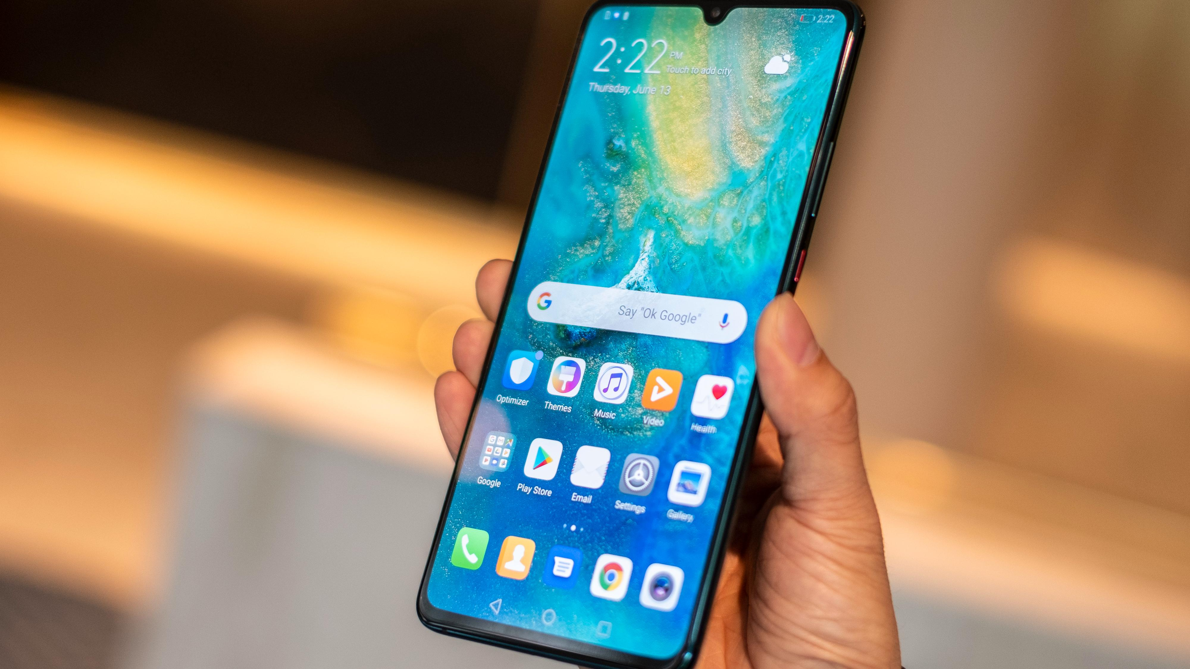 Huawei viser frem ny Android 9. august