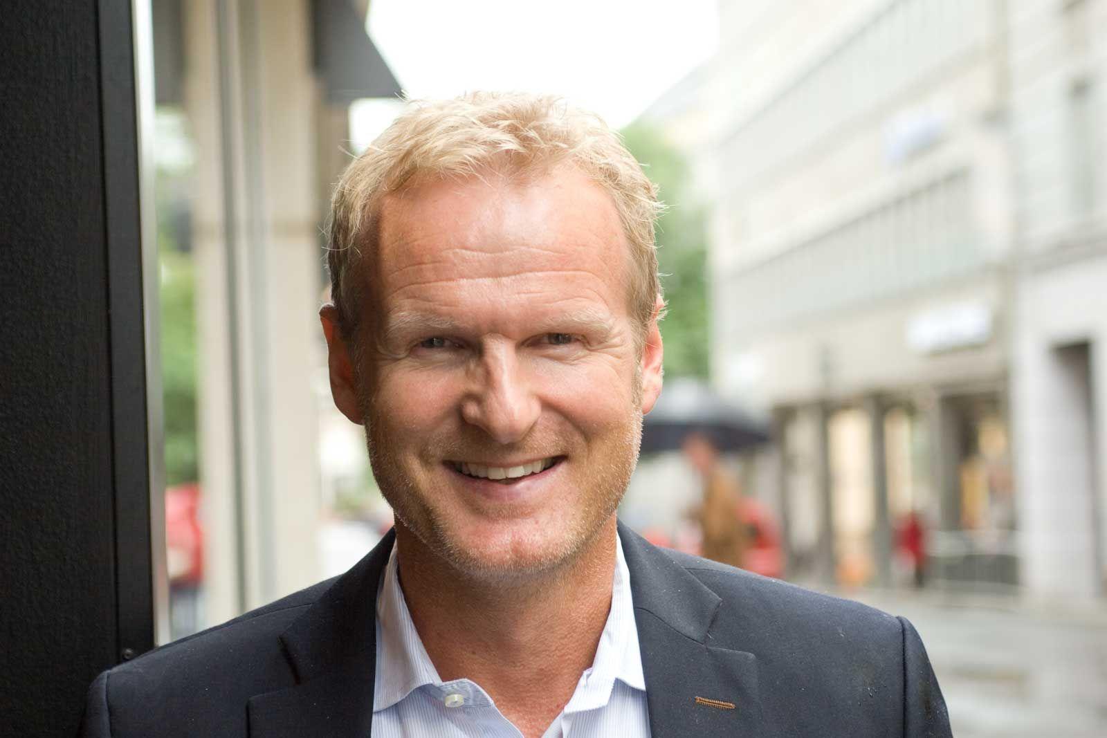 Komplett Mobil-sjef Haakon Dyrnes.