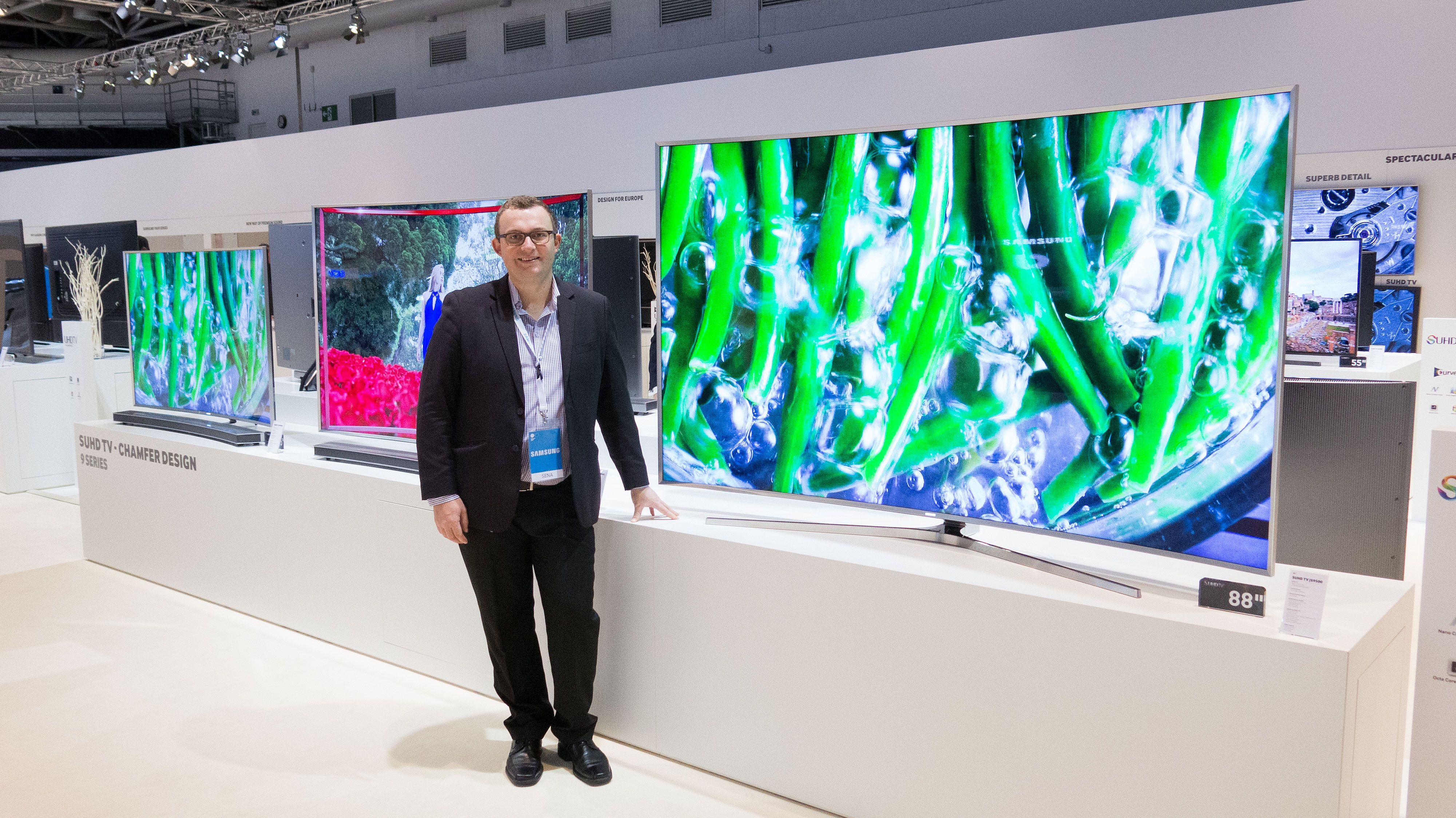 Slik ser Samsungs nye 4K-TV-er ut