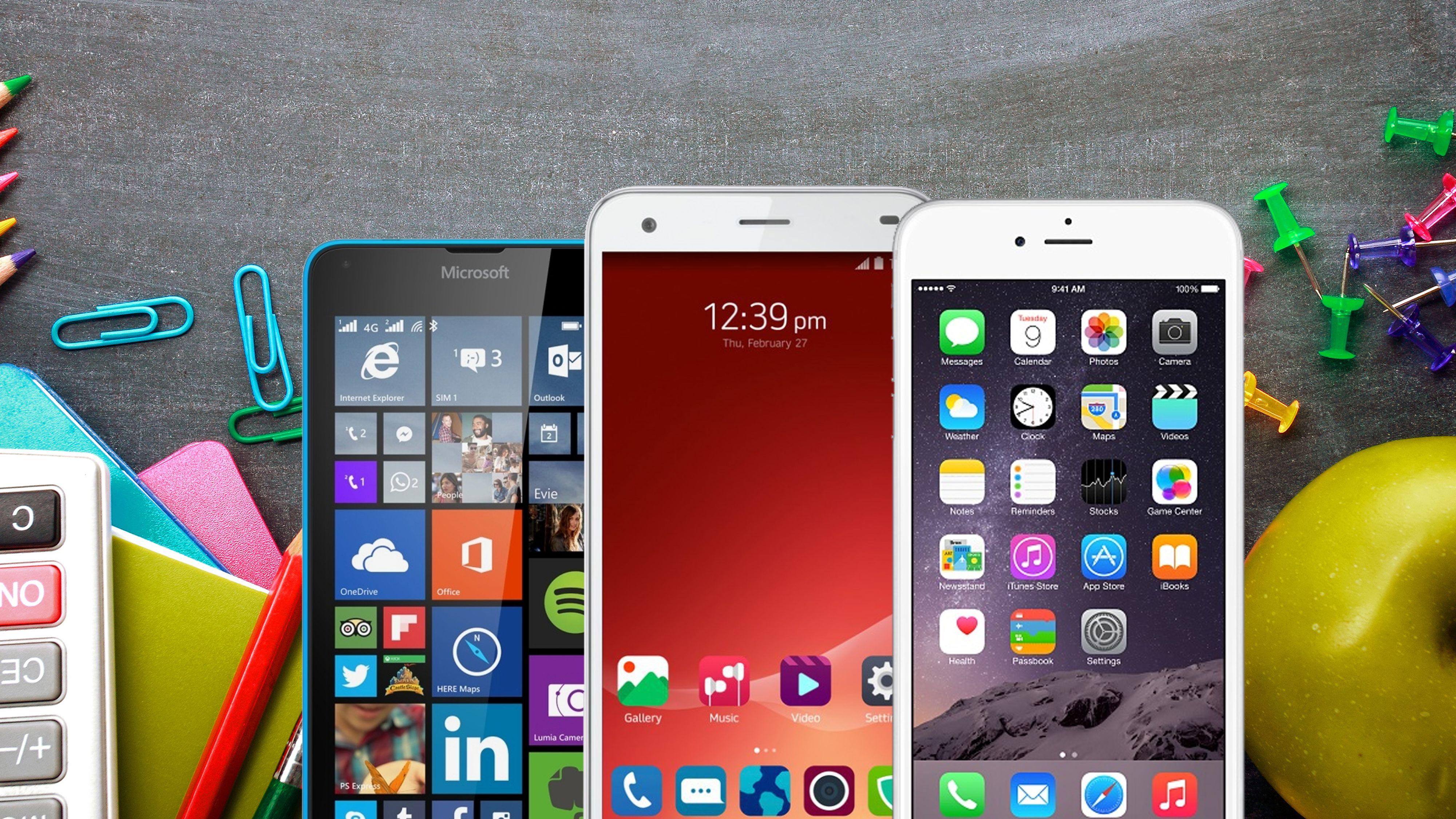 Topp 10 mobiltelefoner