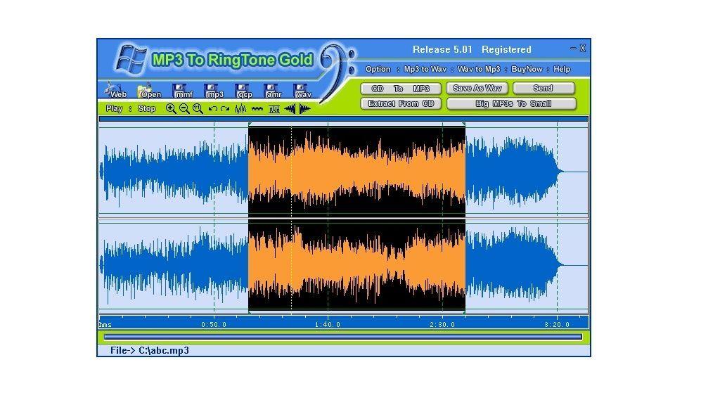 MP3 To Ringtone Gold 7.28