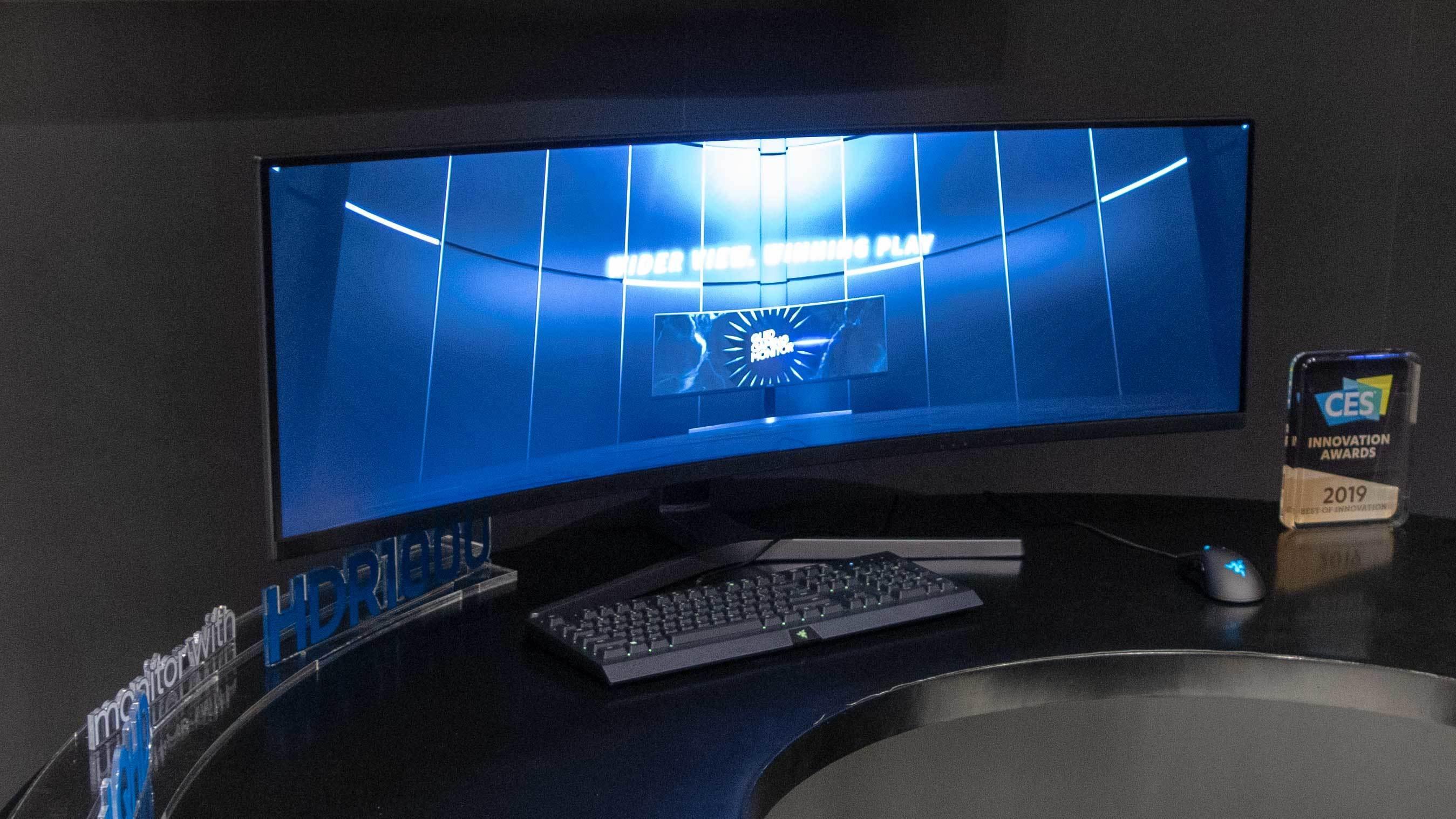 Samsung har en ny superbred verstingskjerm på vei