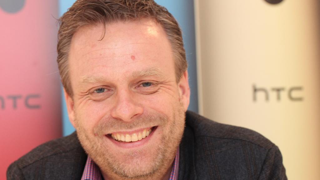 Peter Frølund kom til HTC i 2005. Han var den tredje HTC ansatte i Europa. Foto: Espen Irwing Swang, Tek.no