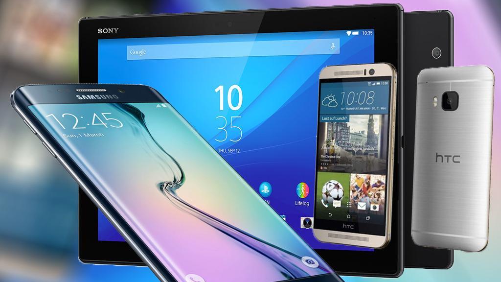 Her er Samsung, HTC- og Sonys nye dingser