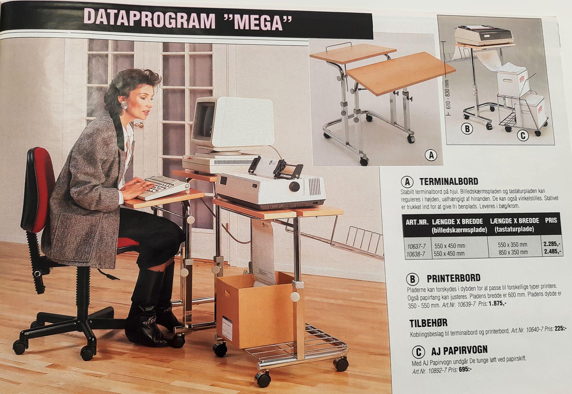 Husker du disse kontormøblene? Slik har trendene endret seg