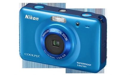Nikon Coolpix S30 er det eneste kameraet på markedet som er spesielt tiltenkt barn.Foto: Nikon