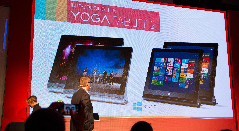 Yoga Tablet Pro 2 kommer i utgaver på 8- og 10 tommer, med både Windows og Android.