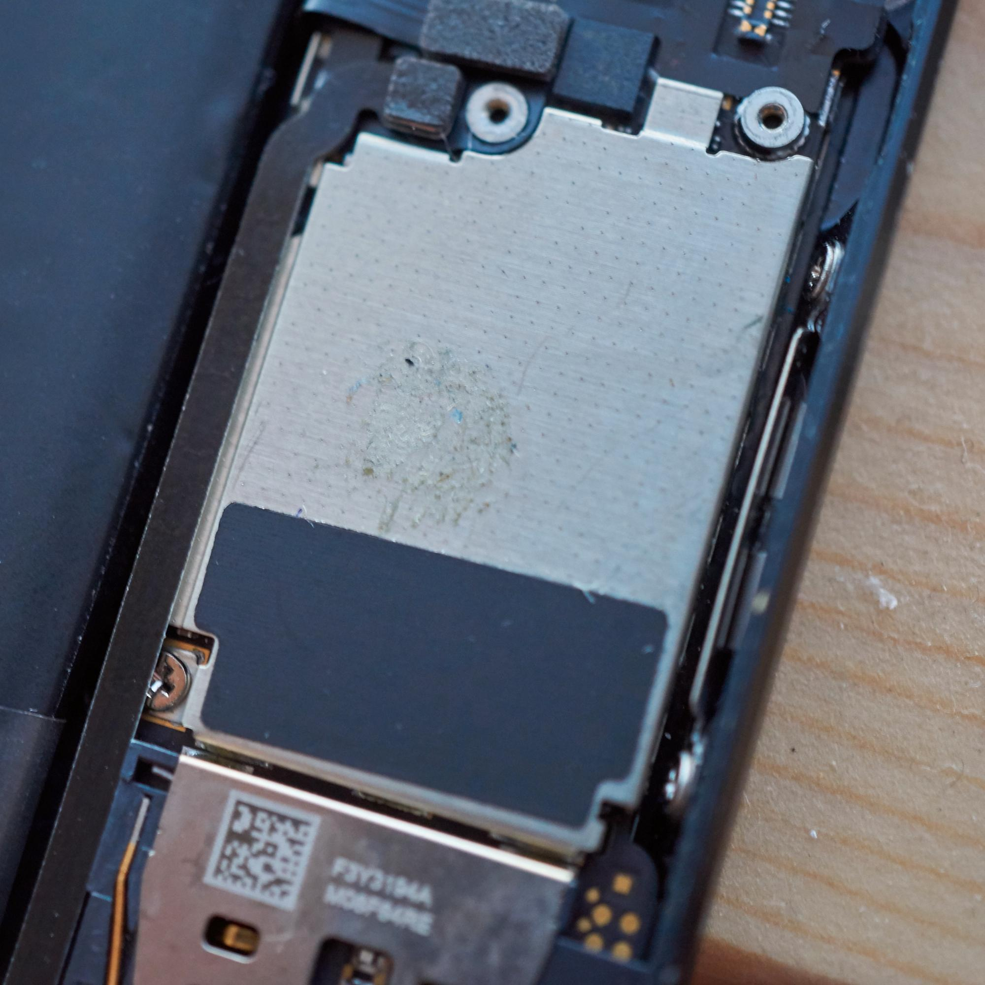 Prosessor og hovedkort, iPhone 5.