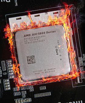 Det er best å passe på temperaturene når du overklokker. I forumet finner du mange gode tips. (Foto: Hardware.no)