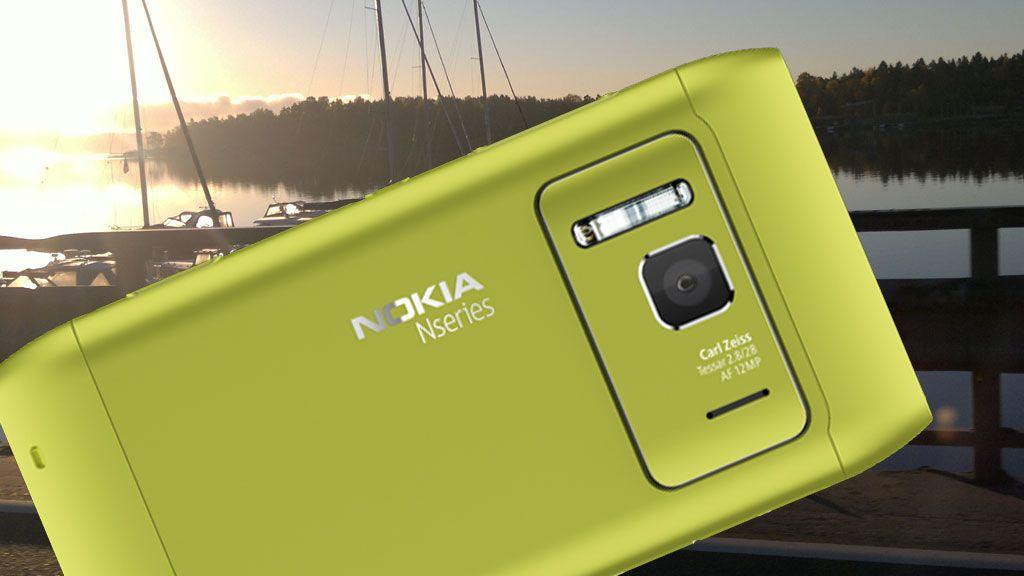 Ta råbra bilder med Nokia N8