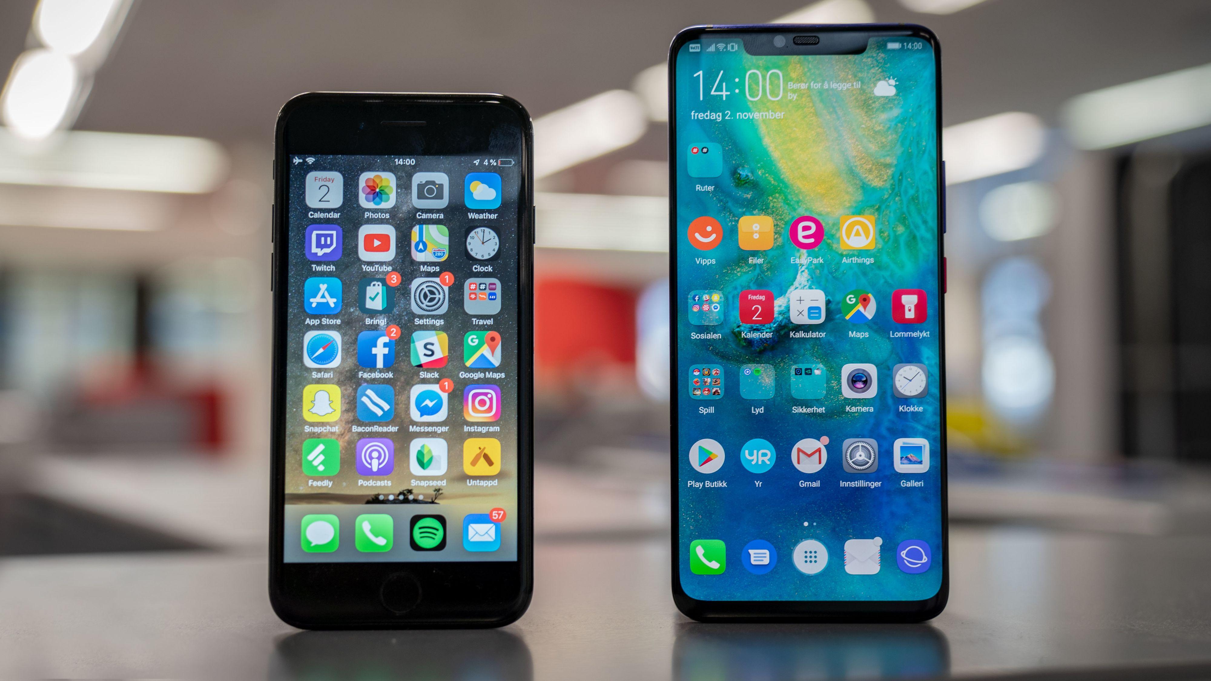 Slik bytter du fra iOS til Android