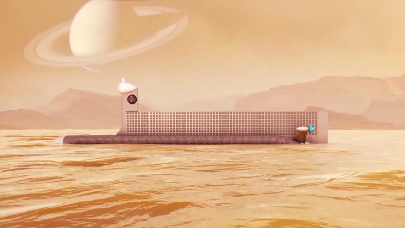 NASA vil utforske fjern måne med ubåt