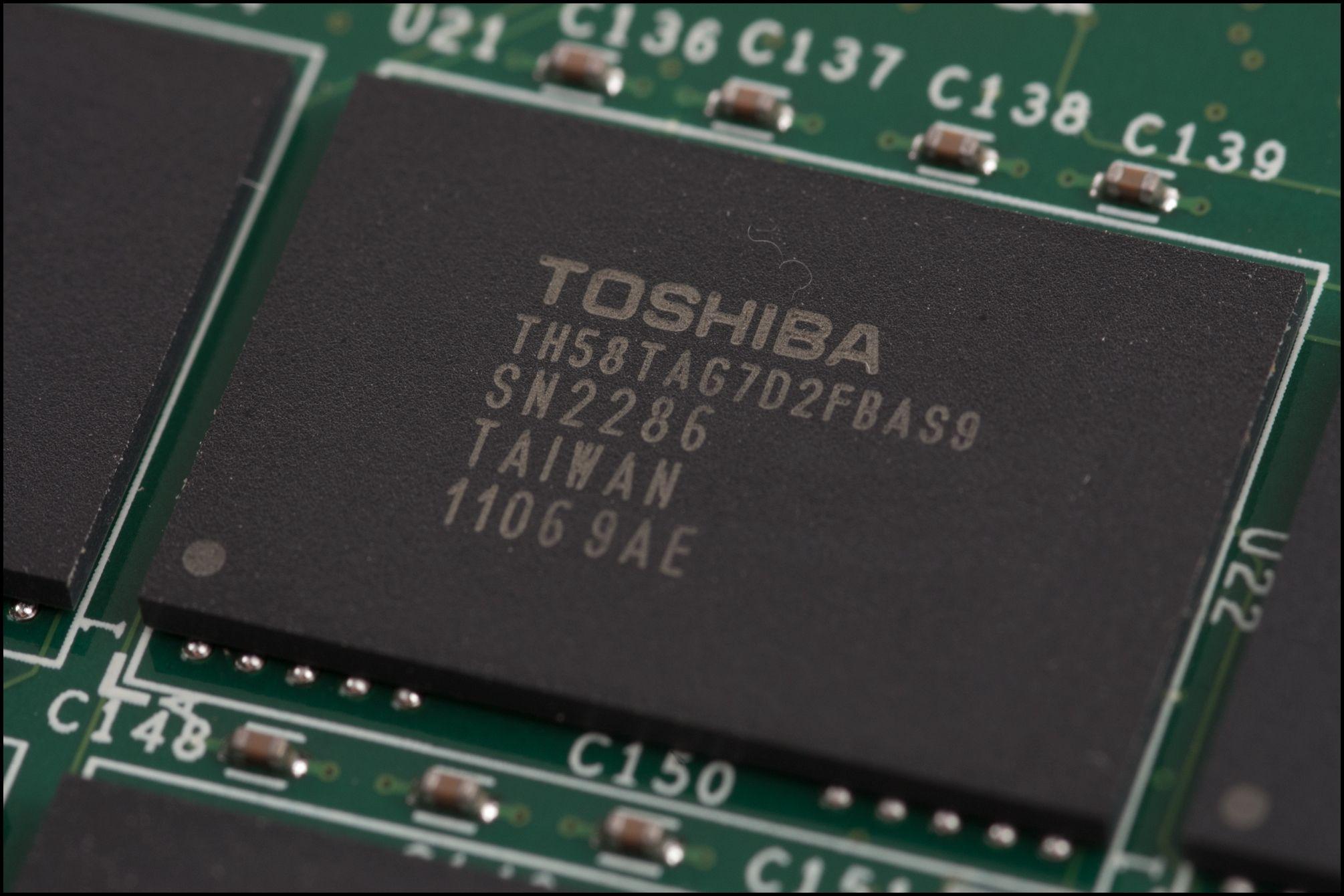 Minnebrikker fra Toshiba