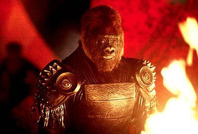 """Den siste """"Planet of the Apes""""-filmen var ikke av første klasse."""