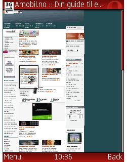 Opera Mini 4 gir full oversikt.