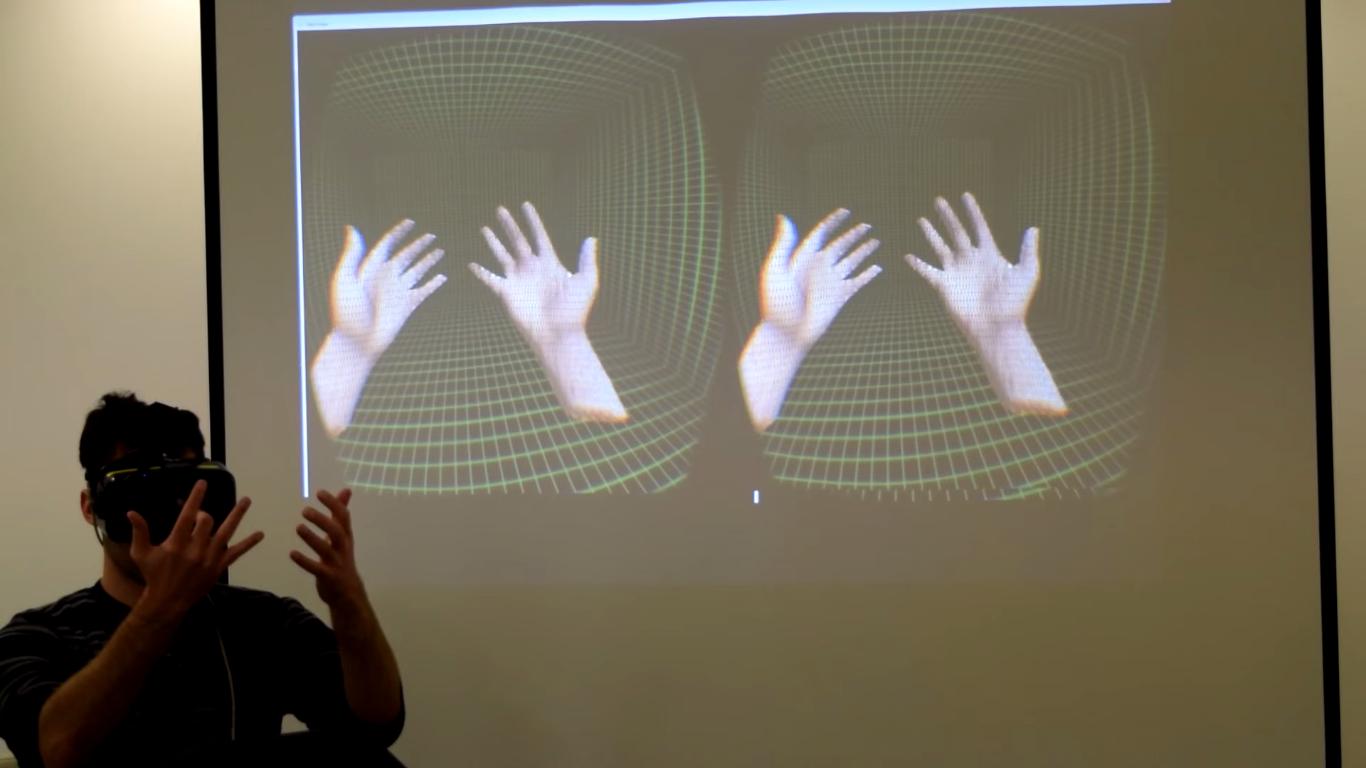 Nå gjør Oculus det mulig å overføre sine egne hender til VR-verdenen