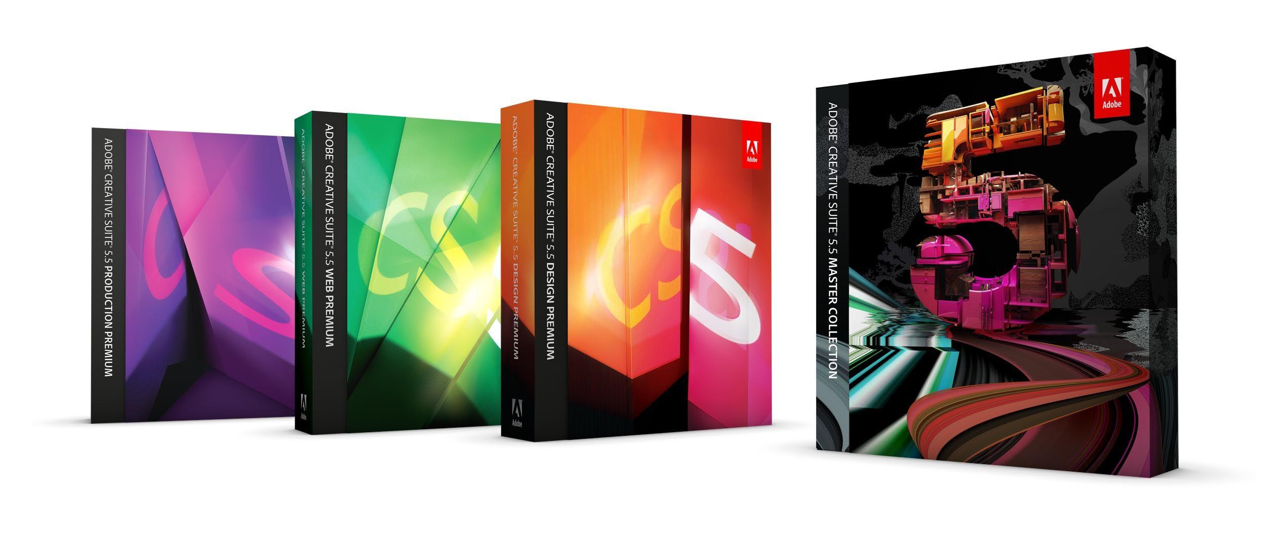 Adobe slipper Creative Suite 5.5