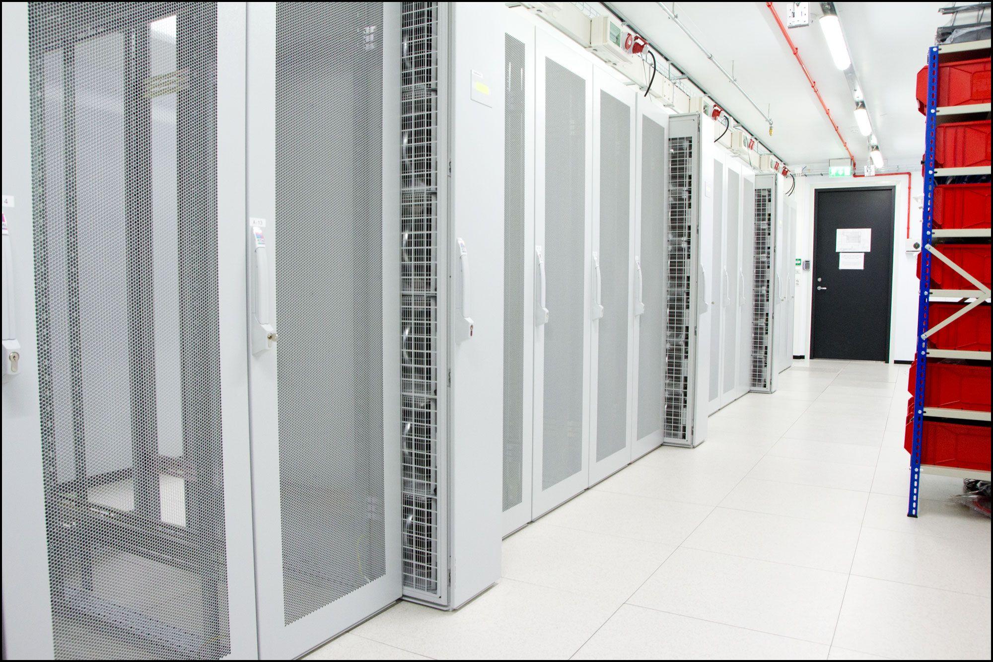 Dette datasenteret hos Linpro leverer Tek.no-nettsidene til deg. Foto: Jørgen Elton Nilsen