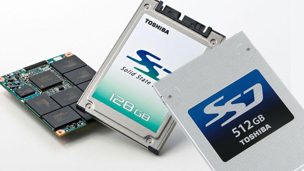 Toshiba slipper SSD-er med verdens minste minne