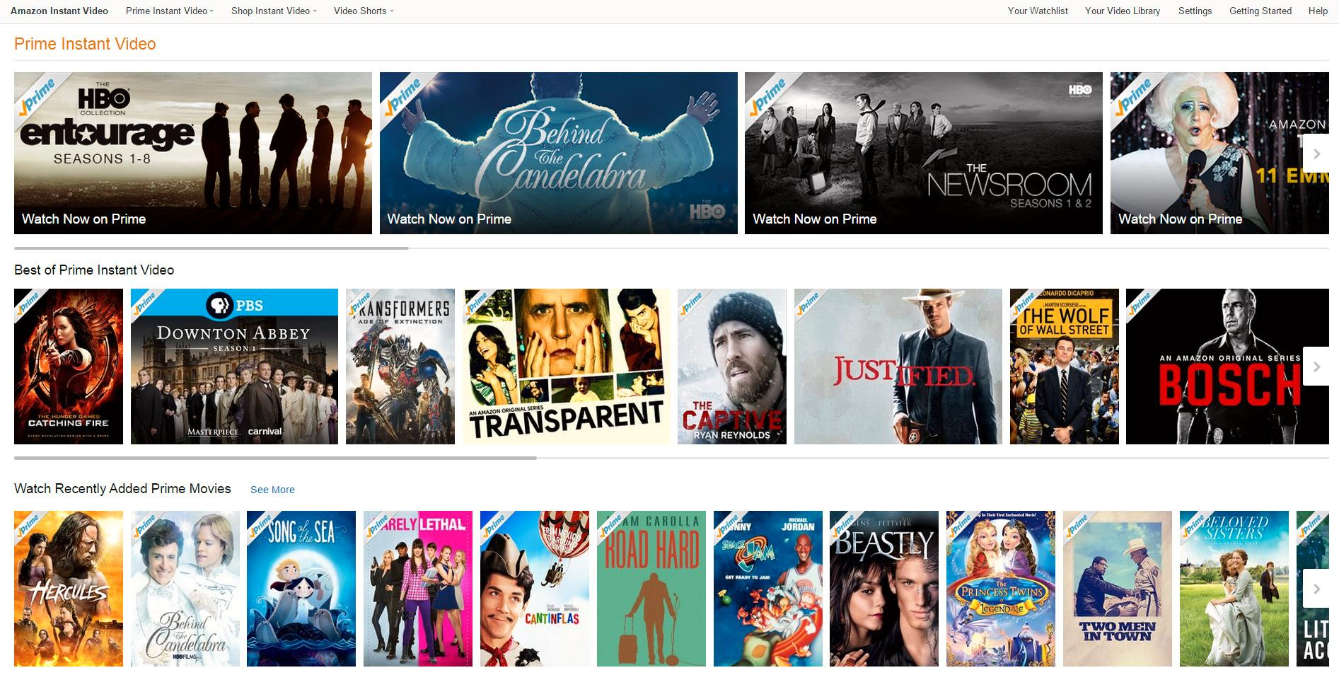 Amazon Prime Instant Video er i utgangspunktet forbeholdt kunder i USA og Storbritannia. I utgangspunktet... (Foto: Skjermdump)