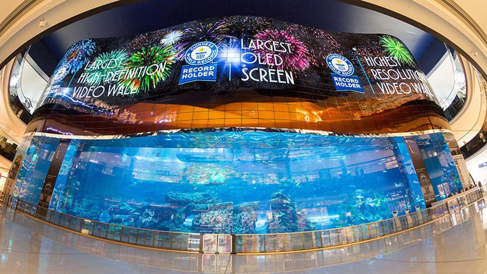 Dette er verdens største OLED-skjerm