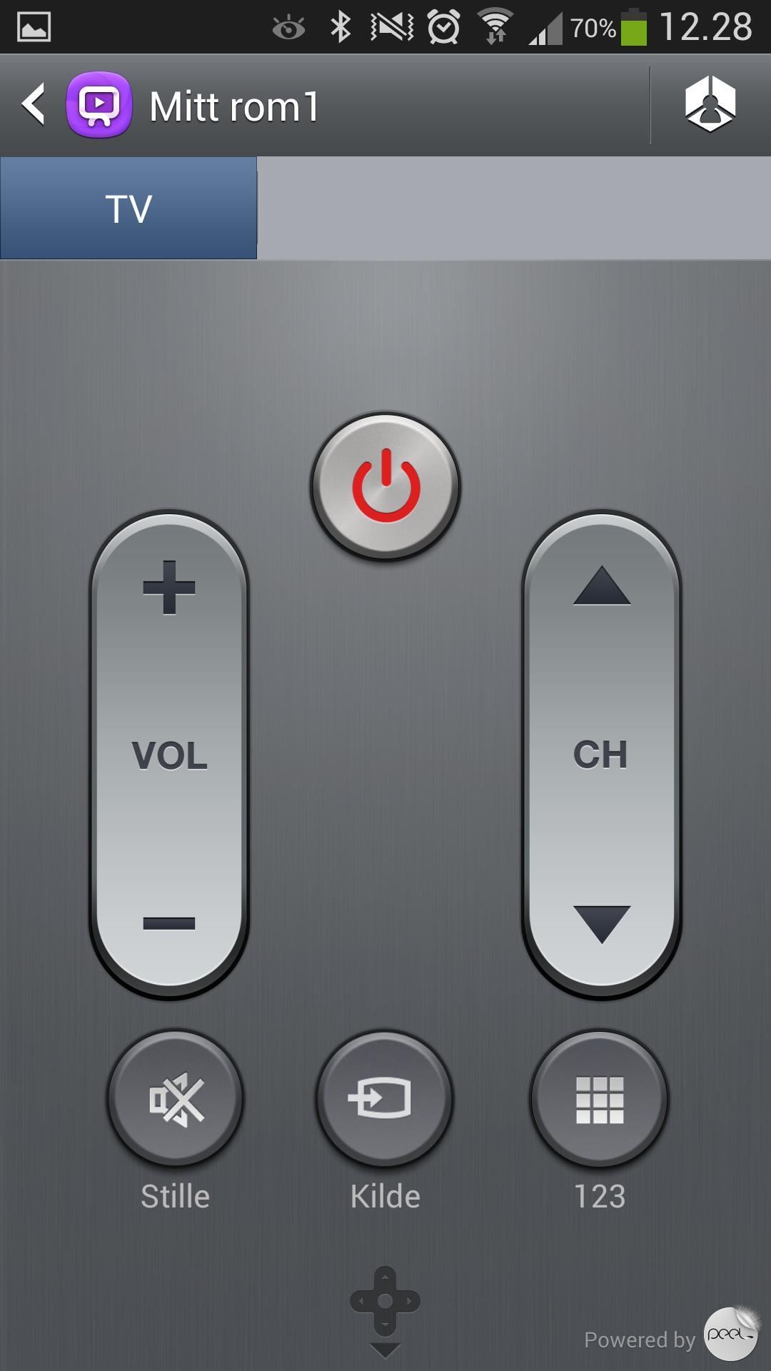 Det er mulig å fjernstyre TV-en med det infrarøde øyet på toppen av telefonen.Foto: Finn Jarle Kvalheim, Amobil.no