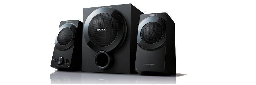 Rimelige PC-høyttalere fra Sony