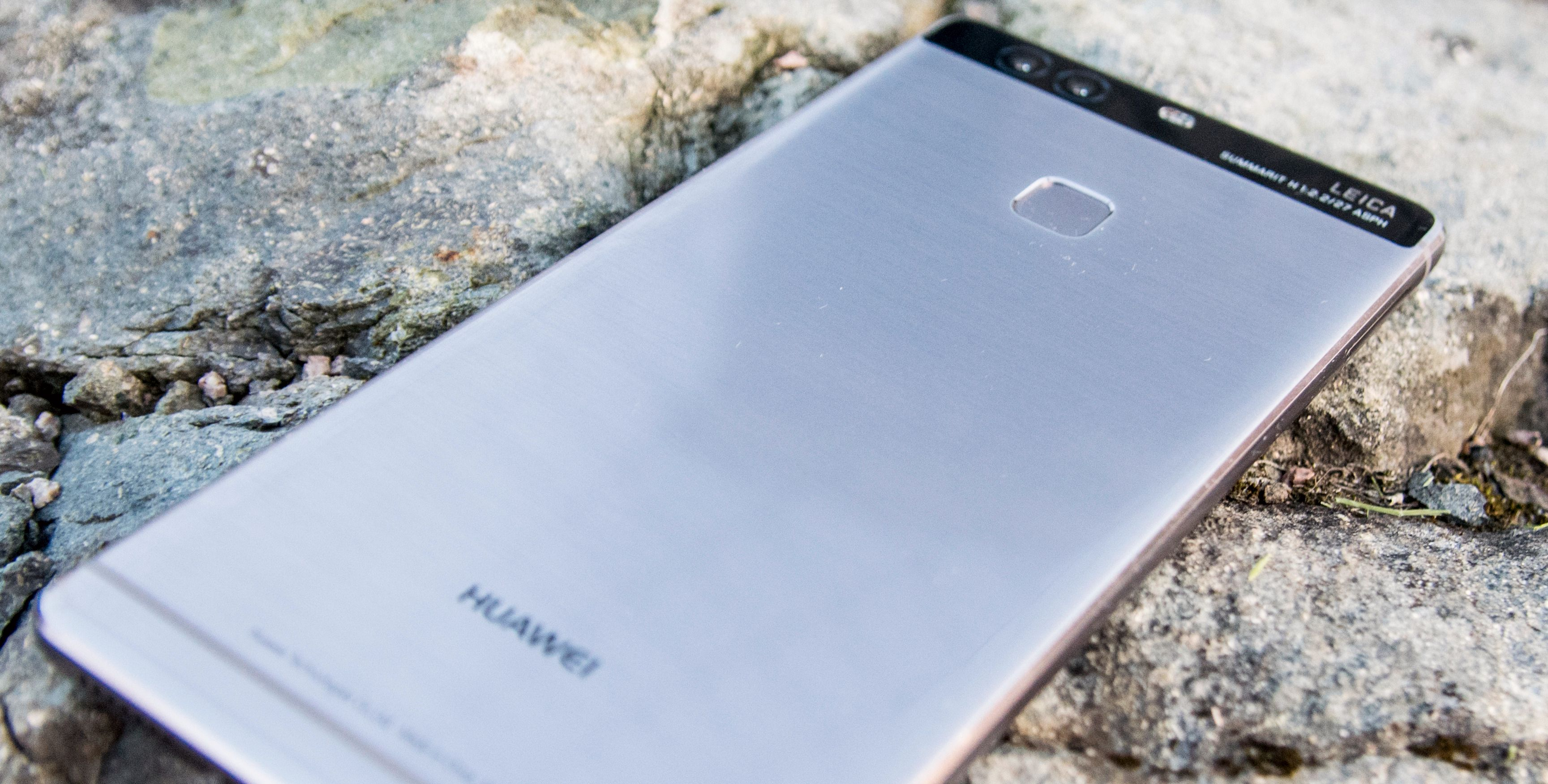 P9 Plus er den desiderte toppmodellen. Her får du «alt» Huawei tilbyr i dag.
