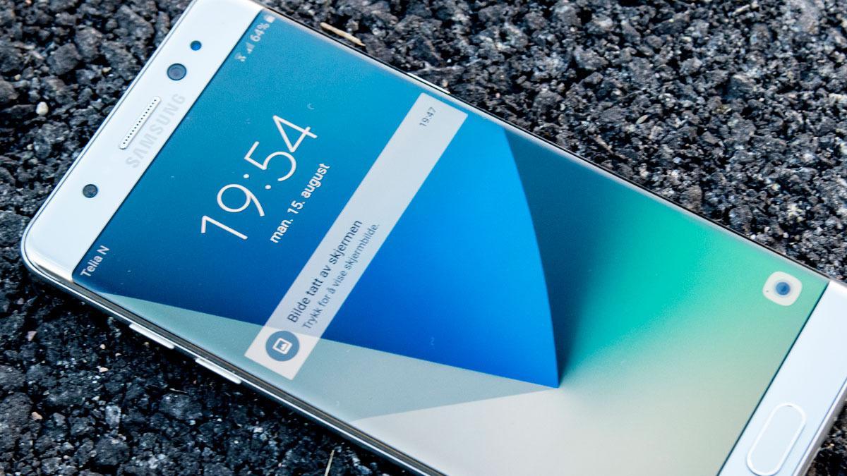 Skal du kjøpe en Galaxy Note 7 bør du se etter en svart firkant for å sikre deg at den er trygg