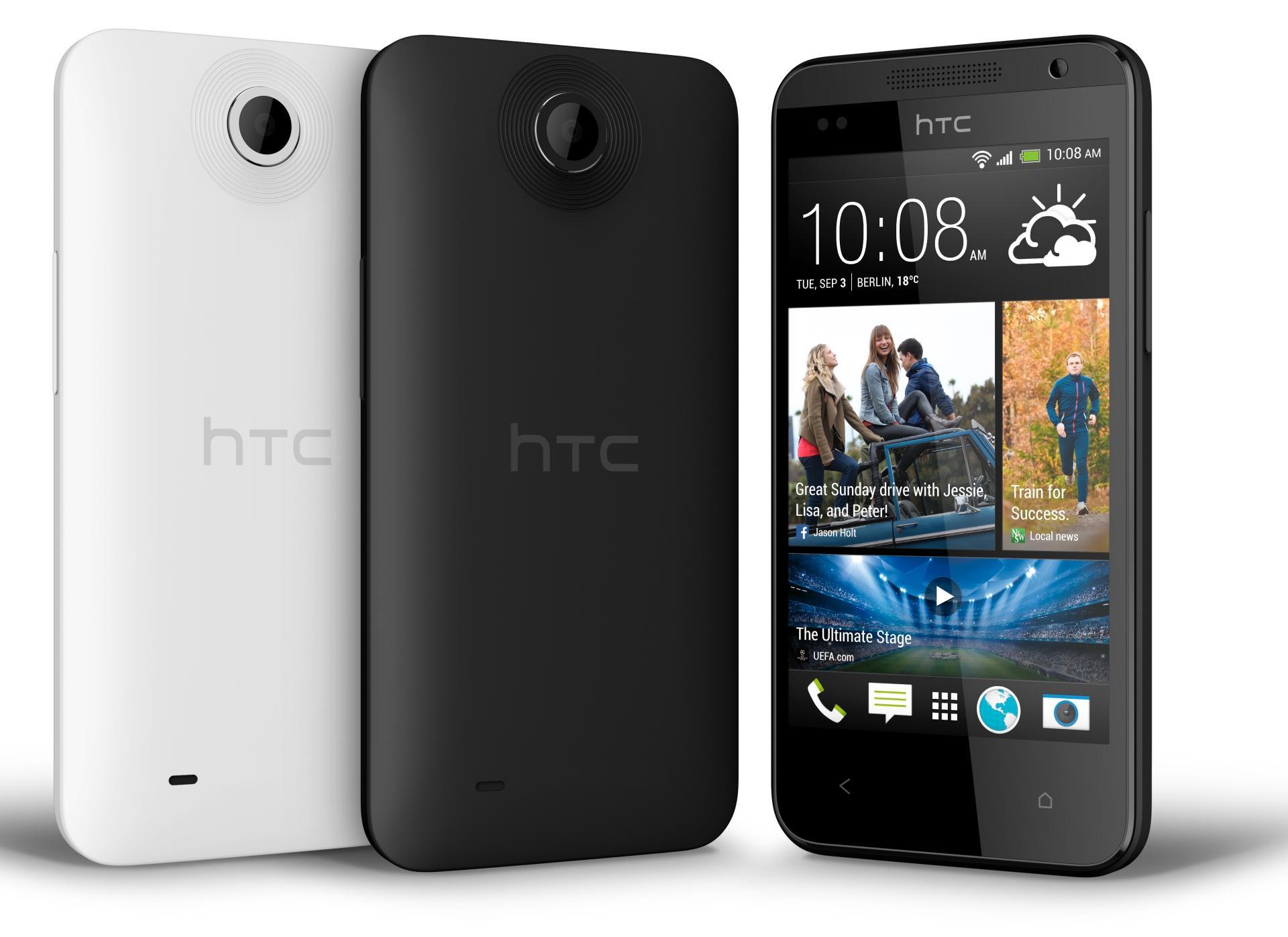 Desire 300 skal være en rimelig telefon i HTCs utvalg. Nøyaktig hva prisen vil bli er foreløpig ukjent.Foto: HTC