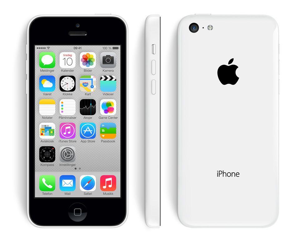 Apple skal visstnok også lansere en oppfølger til denne karen, iPhone 5C. Foto: Apple