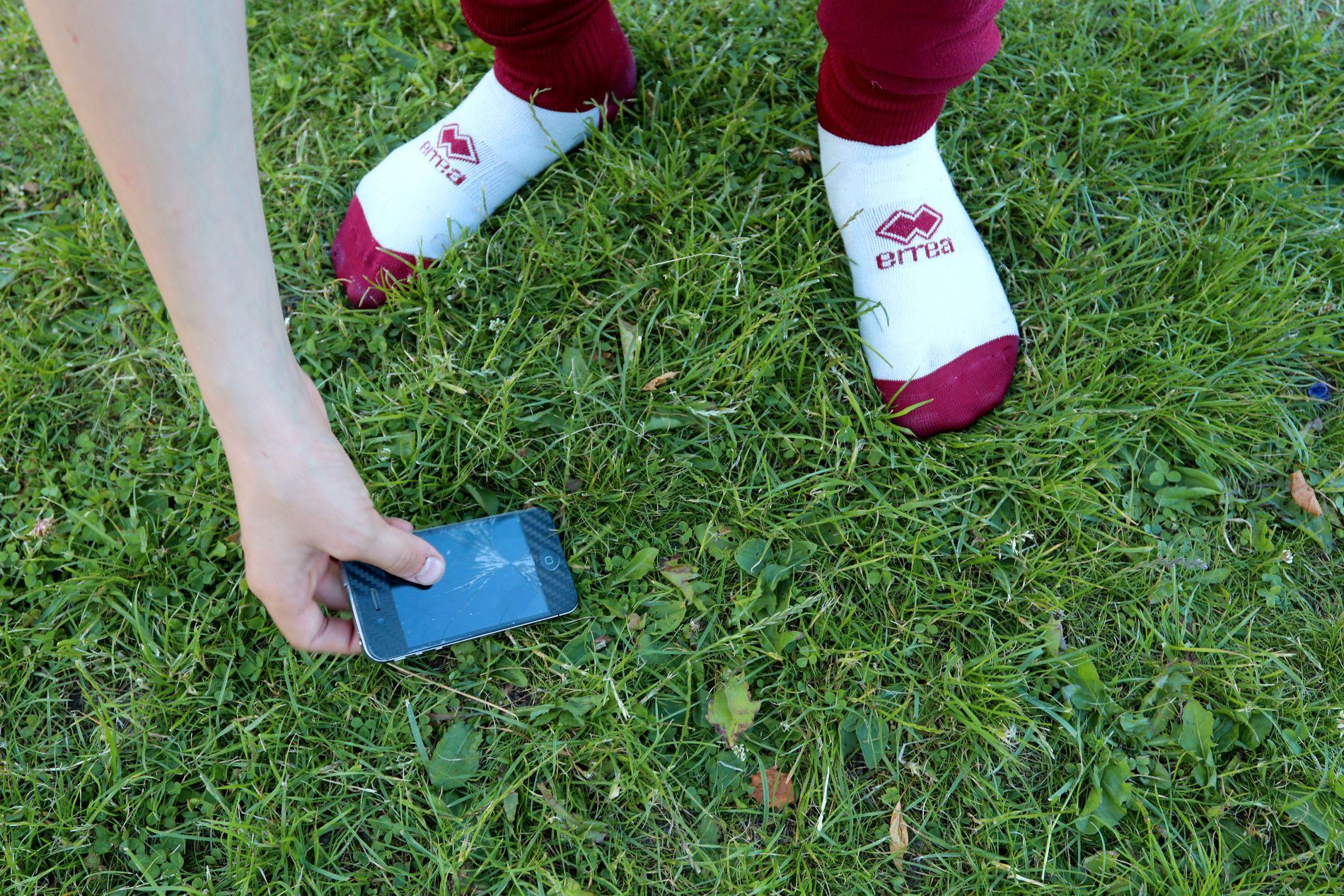 Av og til så skjer det et uhell. Har du en god mobilforsikring svir det «litt» mindre.