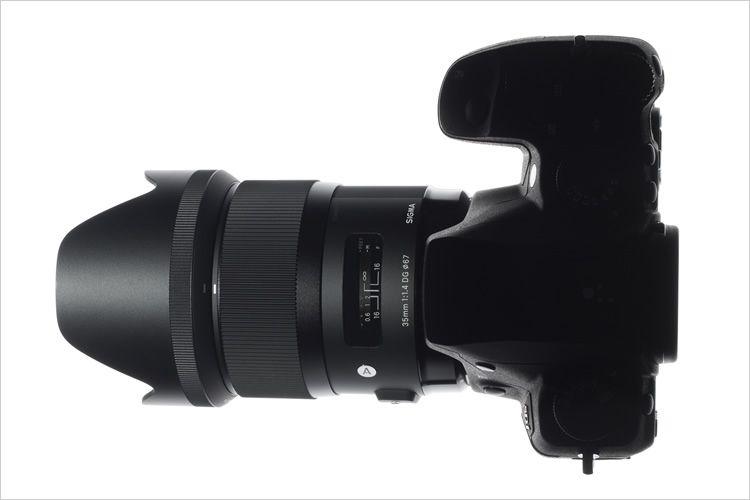 Sigma 35mm f/1.4 DG HSM for Nikon.Foto: Sigma