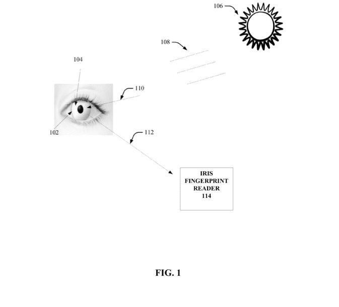 Illustrasjon av kontaktlinsene, hentet fra patentdokumentet. Foto: US Patent Office