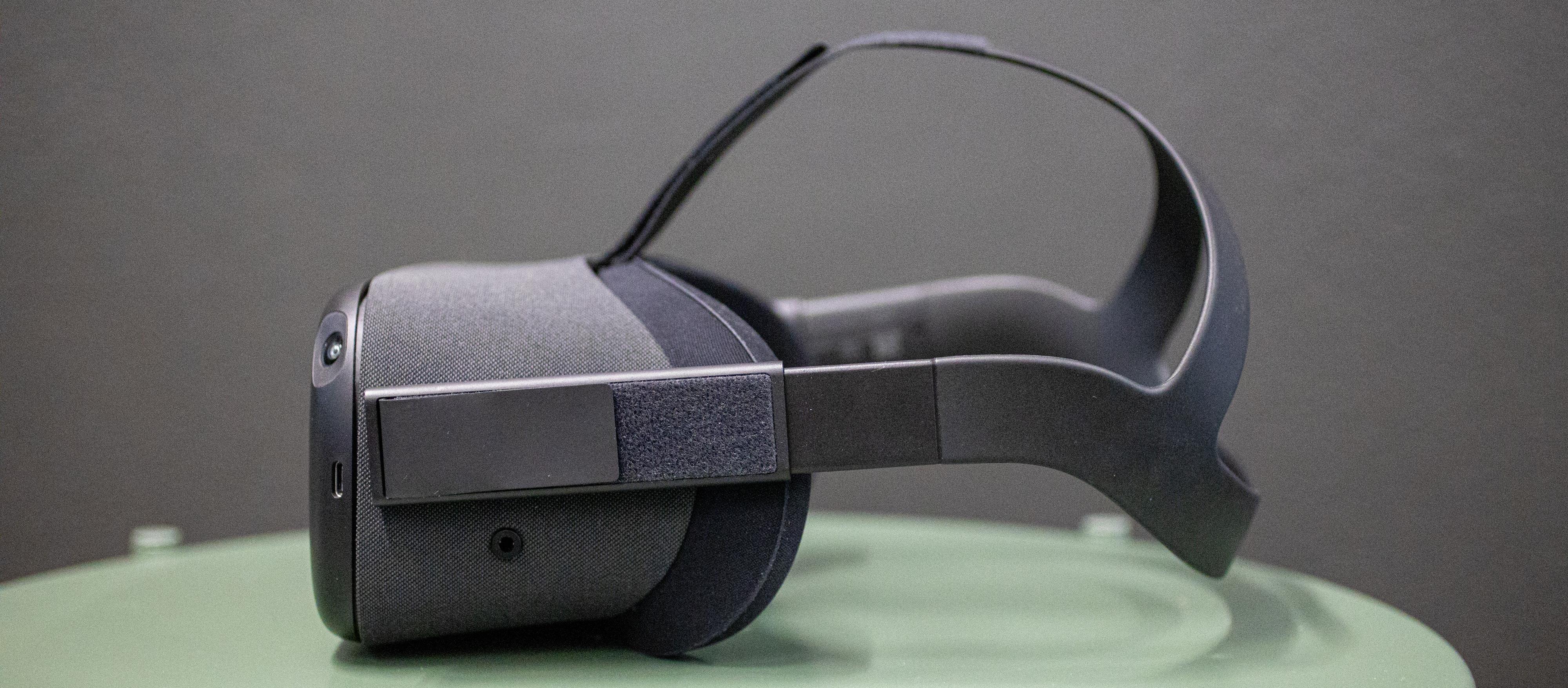 Designet minner mye om den originale Oculus Rift. Det er ikke de mest behagelige VR-brillene å ha på, men det var absolutt godt nok.