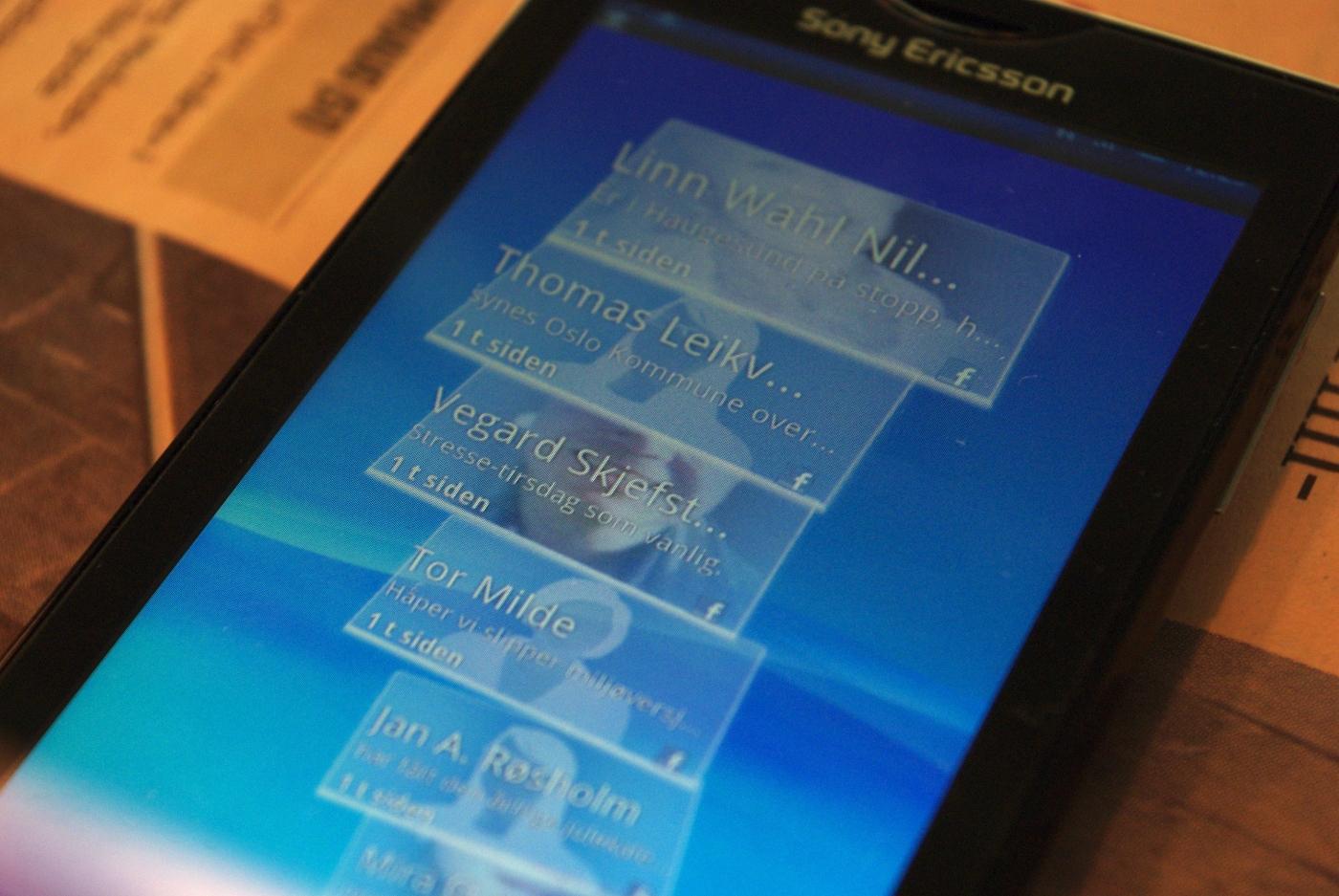 Timescape gir deg en kronologisk oversikt over forskjellige typer hendelser.
