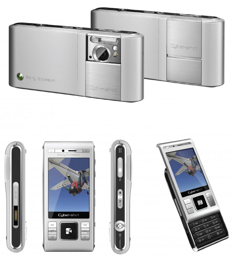 Hansen designet kameramobilen C905 for Sony Ericsson.