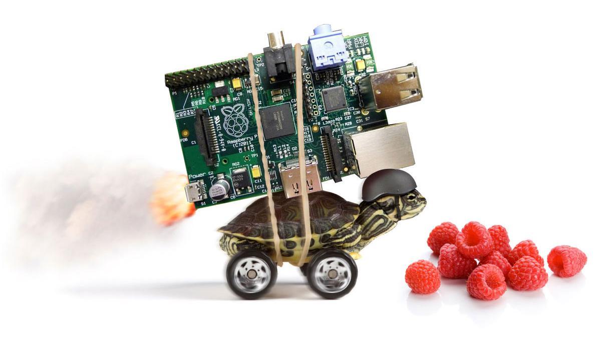 Raspberry Pi kan få rå ytelse
