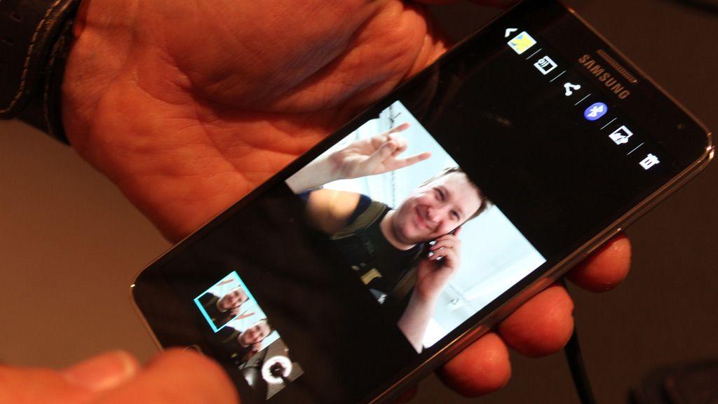 Bildet vi knipset så ikke galt ut på denne skjermen, men når vi hentet bildet opp på PC-en ble vi ikke imponert. Foto: Espen Irwing Swang, Amobil.no