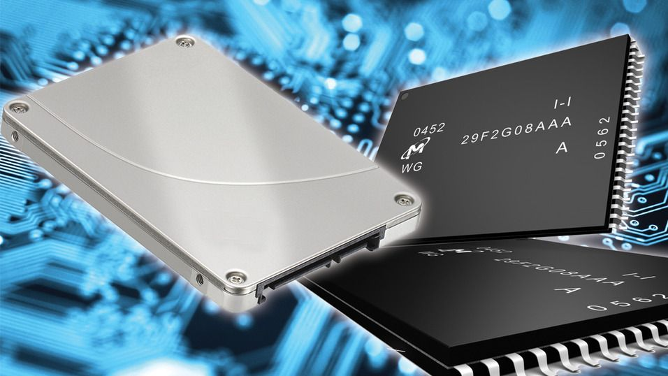 Ved å behandle minnet med varme, kan SSD-er leve tilnærmet evig.Foto: Montasje