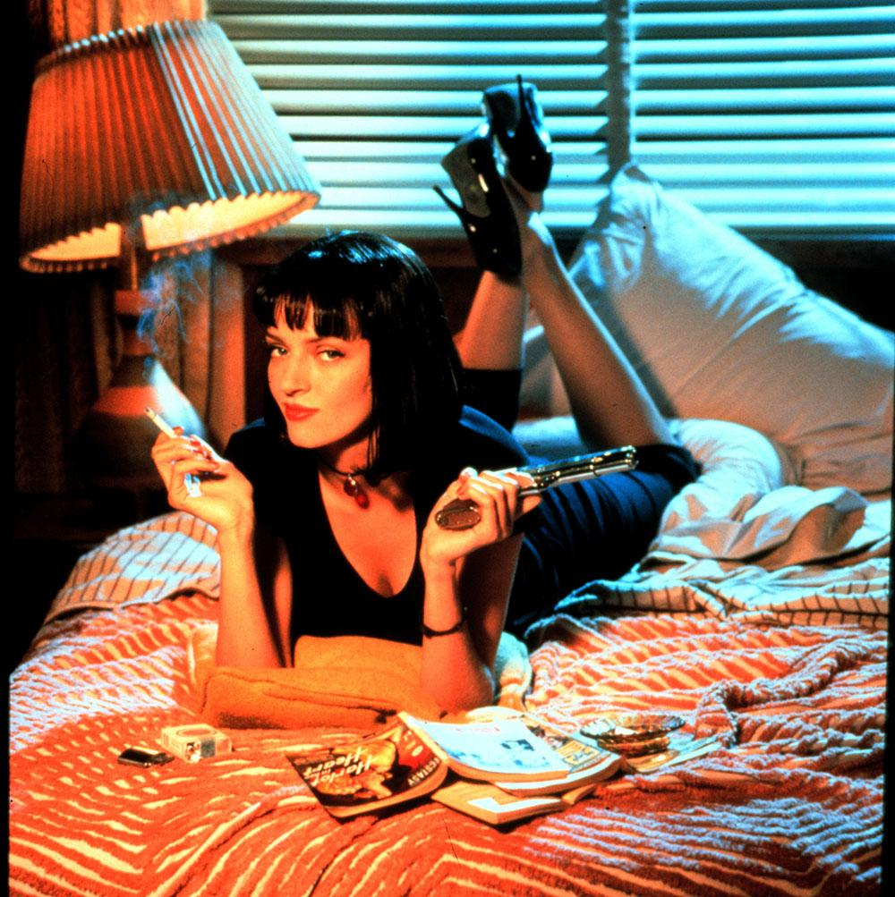 "Uma Thurmans bob i filmen ""Pulp Fiction"" har blivit ikonisk."