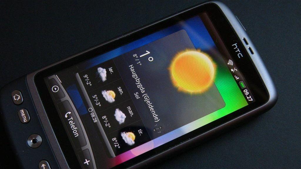 Test: HTC Desire – Lett å bli glad i